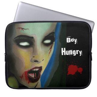 """""""Jungen-hungriger"""" (Zombie) Laptopschutzhülle"""