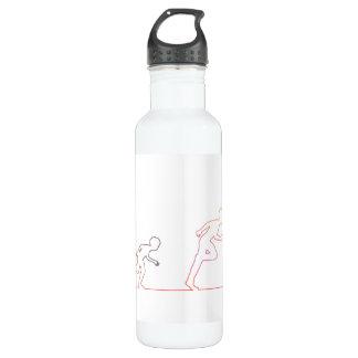 Jungen-Kindheits-Ehrgeiz und Jagen seiner Träume Trinkflasche