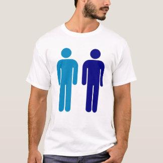 Jungen-nur Gay Pride-Blau-Männer T-Shirt