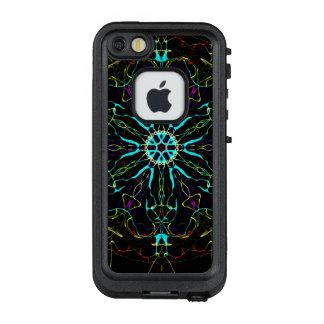 Jungen-Raum-Eindringlings-Farbrad LifeProof FRÄ' iPhone SE/5/5s Hülle