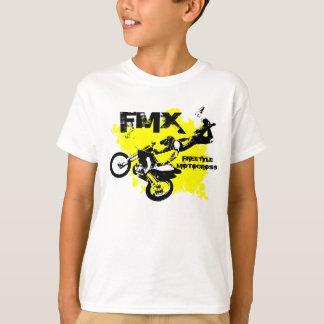 Jungen-Schmutz-Fahrrad-T - Shirt