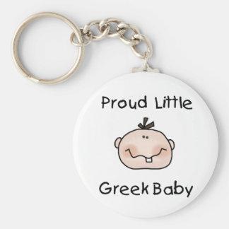 Jungen-stolzer Grieche Schlüsselanhänger