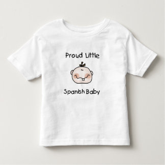 Jungen-stolzes spanisches Baby Hemden