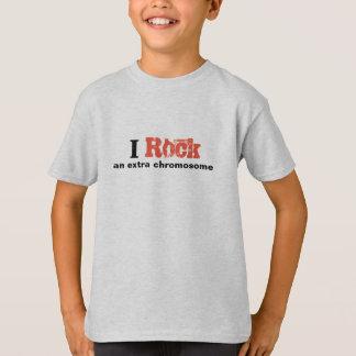 "Jungen-T-Shirt ""ich schaukele ein Extrachromosom "" T-Shirt"