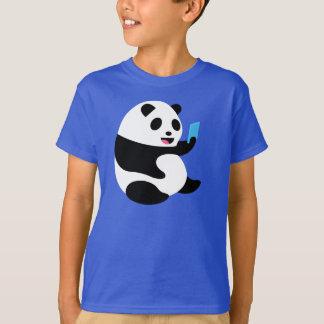 """Jungen-T - Shirt: """"Selfie Panda """" T-Shirt"""