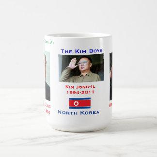 Jungen-Tasse Nordkoreas Kim