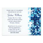 Jungen-Taufe-Baby-Widmungs-erste heilige Kommunion 12,7 X 17,8 Cm Einladungskarte