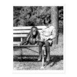 Jungen-u. Orang-Utan Vintager nationaler Zoo Washi Postkarten