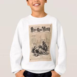 Jungen und Mädchens wöchentlich - Vintages 1883 Sweatshirt