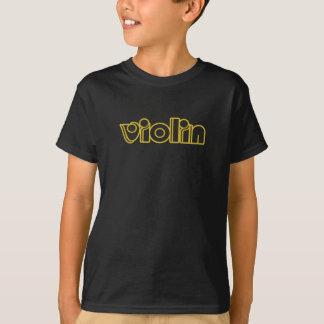 Jungen-Violinen-T - Shirt