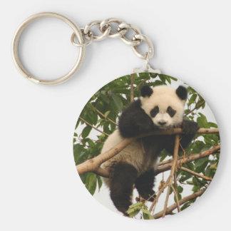 Junger großer Panda Schlüsselanhänger