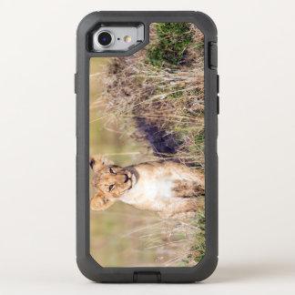 Junger Löwe OtterBox Defender iPhone 8/7 Hülle