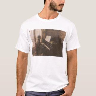 Junger Mann, der das Klavier durch Gustave T-Shirt