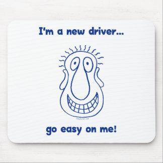 Junger neuer jugendlich Fahrer Mauspad
