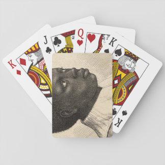 Junger Schwarze durch Wenceslaus Hollar Spielkarten
