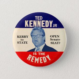 Jüngeres Teds Kennedy ist die Abhilfe Runder Button 5,7 Cm