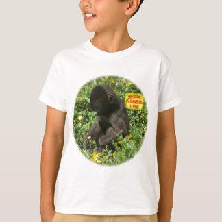 JUNGES AFFEN-WUNDER T-Shirt