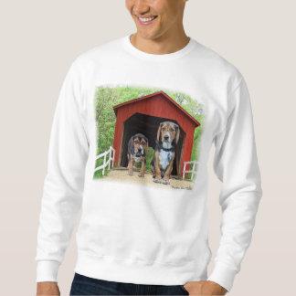 Junges Beagle-Sandy-Nebenfluss-bedeckte Sweatshirt