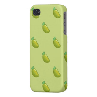 junges frisches Mangomuster iphone 4 iPhone 4/4S Case