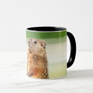 Junges Groundhog Tasse