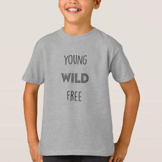 JUNGES WILDES FREIES T-Shirt