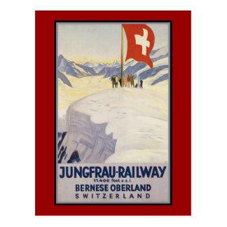 Jungfrau-Eisenbahn Bernese oberland Postkarte