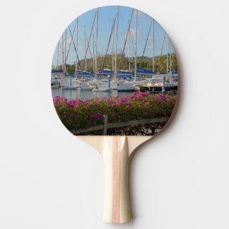 Jungfrau Gorda Yacht-Hafen Tischtennis Schläger