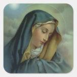 Jungfrau-Mary-Annahme Sticker