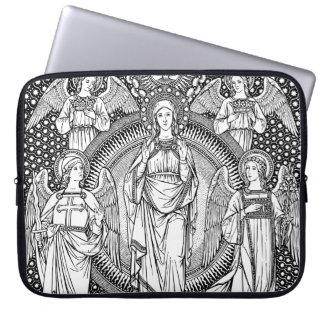 Jungfrau-Mary-Laptop-Hülse Laptopschutzhülle