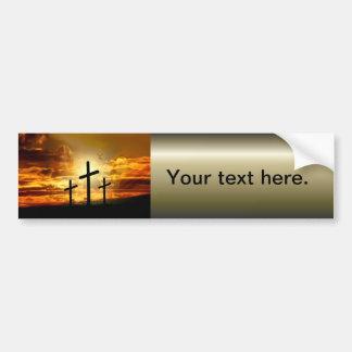 Jungfrau-Mary-Taube Calvery Jesuss Christus Autoaufkleber