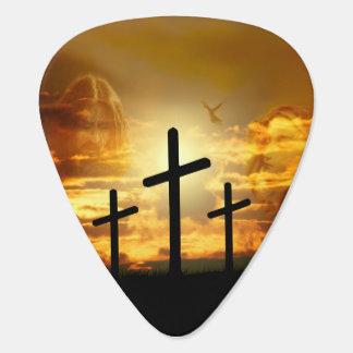 Jungfrau-Mary-Taube Calvery Jesuss Christus Plektrum