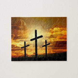 Jungfrau-Mary-Taube Calvery Jesuss Christus Puzzle
