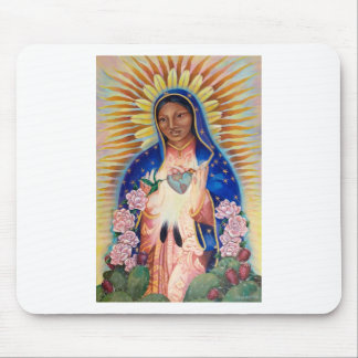 Jungfrau Mary - unsere Dame Of Guadalupe Mousepad