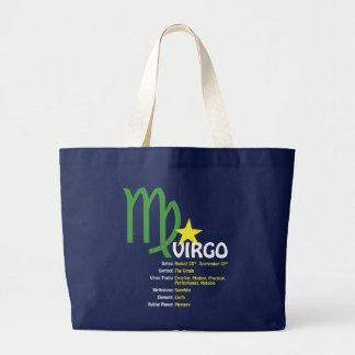 Jungfrau-Merkmal-Dunkelheits-Tasche Jumbo Stoffbeutel