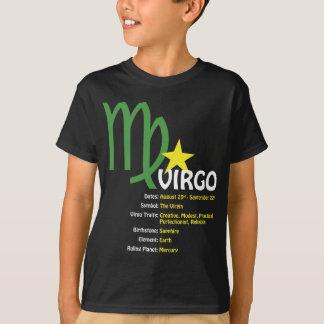 Jungfrau-Merkmal-Kinderdunkelheits-T - Shirt