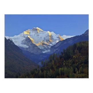 Jungfrau Strecke von Interlaken Postkarte