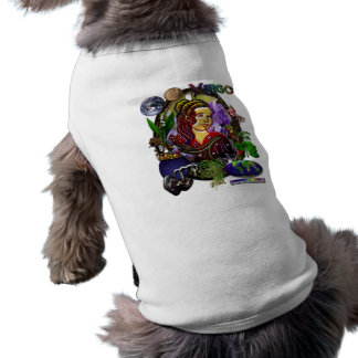 Jungfrau-Tierkreis-Kunst T-Shirt