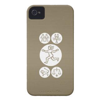 JUNGFRAU - TIERKREIS Symbol iPhone 4 Hülle