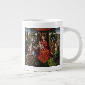Jungfrau u. Kind mit Heiligen Catherine von Jumbo-Tasse