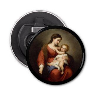 Jungfrau und Christus-Kind Flaschenöffner