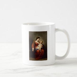 Jungfrau und Christus-Kind Kaffeetasse