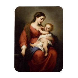 Jungfrau und Christus-Kind Magnet