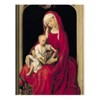Jungfrau und Kind, 1464 Postkarte