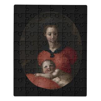 Jungfrau und Kind, bekannt als Madonna Del Libro Puzzle