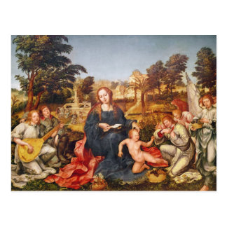 Jungfrau und Kind und Engel, 1536-38 Postkarte