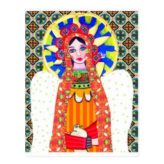 Jungfrau von Guadalupe Postkarte
