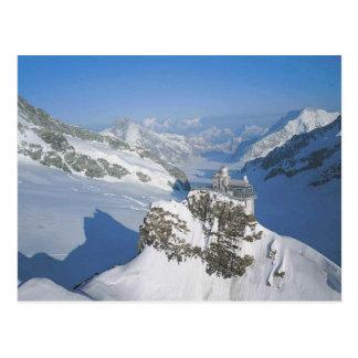 Jungfraujoch, die Spitze von Europa Postkarte