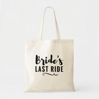 Junggeselinnen-Abschieds-Taschen-Hochzeit der Tragetasche