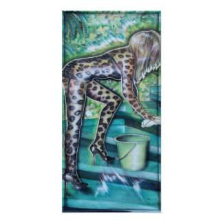 jungle1 poster artprint kunstdruck druck print