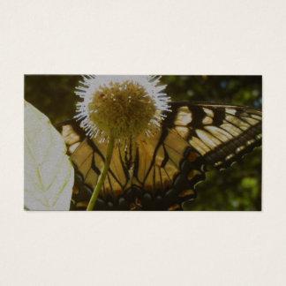Juni-Monarch-Blumen-Geschäfts-Karte Visitenkarte